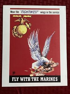 US Marines - Fly With The Marines 8x10 Photo