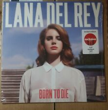 Lana Del Rey Born to Die Exclusive Red Colored Vinyl LP Rare