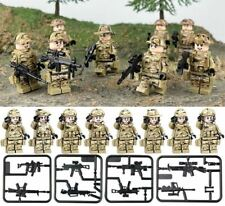 8sets Military Mini Army Soldier Guns Weapons Building Blocks Kids Toy Fits