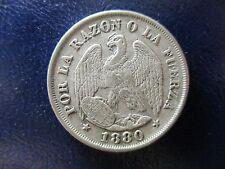 CHILE 20 CENTAVOS 1880