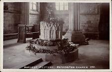 Patrington near Withernsea. Harvest Festival 1911 by Barnard & Straker, Hull.