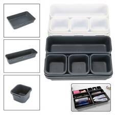 8 X Schubladen Schreibtisch Organizer Aufbewahrung Box Schmuck Behälter Korb DE