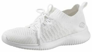Dockers By Gerli 44SY201-700500 Ladies Slip-On Trainers Shoes White