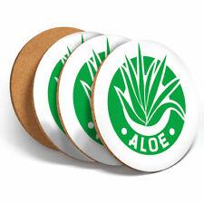 4 Set-Aloe Vera Beauté Skincare Coasters-Cuisine boissons Coaster Cadeau #4226