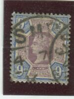 Great Britain Stamps Scott #120 USed,F-VF (X8688N)
