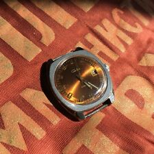 Vintage Russian USSR ☭ SLAVA Watch 21 Jewels For Parts