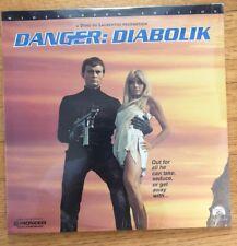 DANGER: DIABOLIK - Mario BAVA's 1968 Widescreen Dino De Laurentis Laserdisc Mod
