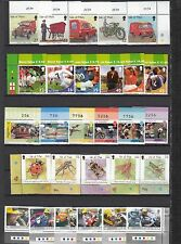 Isle of Man Nicht gefaßt Ungebraucht briefmarken 2000-2004 Mehrfachlistung