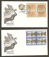 Unny#291-293/Geneva 73 - Definitives'78 Set (4) Artmaster.B4Fdcs