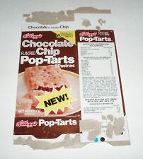 1978 Kelloggs Chocolate CHip POP TARTS box w/ Wizard of OZ book offer