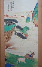 Excellent Chinese 100% Hand Painting & Scroll Landscape By Zhang Daqian 张大千 JNN9