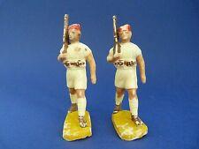 BEFFOID - 2 soldats en plastique - Tirailleurs en short (colonies)