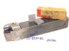 USED SANDVIK carbide inserts TURNING TOOL HOLDER SBPR-206 WITH 6PCS. INSERTS