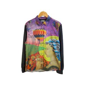 Men's Desigual Long Sleeve Button Down shirt size L