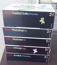 Adobe Creative Suite 2 Premium Mac With 4 other Adobe Programs!!!