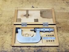 Ku Russian Made 25 50mm Thread Pitch Gage Micrometer With Anvils