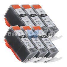 6 PGI-225 BLACK Ink for Canon Printer PIXMA iX6520 MG6120 MG8120 * PGI-225BK