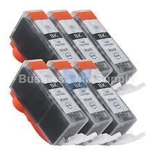 6 PGI-225 BLACK New Compatible Ink Cartridge for Canon PGI-225 PGI225 PGI-225 BK