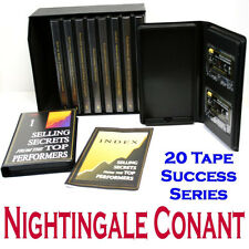 Selling Secrets From The Top Performers 10 VOLUMES - 20 TAPES Sell Yourself Rich
