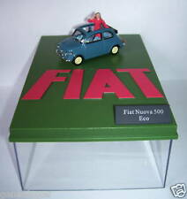 UNIVERSAL HOBBIES FIAT NUOVA 500 ECO BLEUE PERSONNAGE