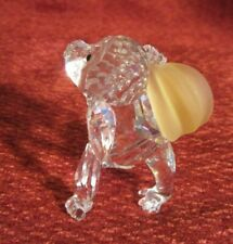 """Swarovski Young Gorilla W/Bunch of Bananas 2.5"""" Tall X 2.25"""" Excellent Condition"""