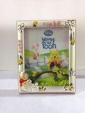Cornice portafoto Winnie the Pooh in argento DISNEY WP1083/3AR regalo nascita