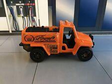 2001 Matchbox ~ Orange Foam Fire truck ~ Royal Bug Removal ~ loose