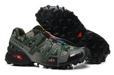 Men's Outdoor Salomon Speedcross 3 Military camouflage Sports  Run Hiking Shoes