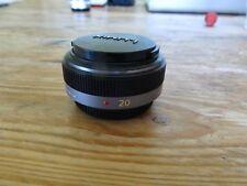 Panasonic Lumix 20mm f1.7 pancake lens for micro 4/3