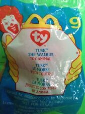 MCDONALD S 2000 HAPPY MEAL TOY  9 TY BEANIE BABY  TUSK THE WALRUS  UNOPENED faf97ae76fad