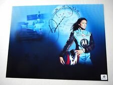"Danica Patrick signed #7 MOTOROLA HONDA ""TISSOT"" Indy 8.5x11 HTF Photo GAI COA"