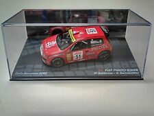 VOITURE RALLYE 1/43 FIAT PUNTO S1600 SAN REMO 2003 BALDACCI RALLY CAR COLLECTION