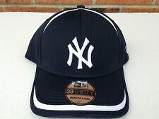 New York Yankees New Era 39THIRTY Stretch Fit Flex Mesh Back Cap Hat M/L