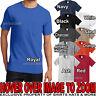 Mens Tall T-Shirt with Pocket PRESHRUNK Heavy Cotton LT XLT, 2XLT, 3XL, 4XLT NEW