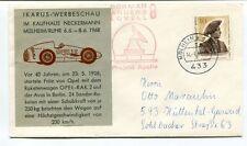 1970 Ikarus Werbeschau Kaufhaus Neckermann Mulheim Ruhr OPEL-RAK 2 Apollo SPACE