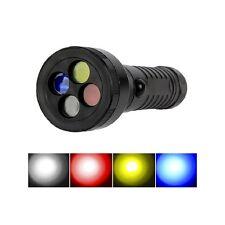 Linterna RGB Led - Filtros de Colores Rojo, Amarillo y Azul - Light Painting