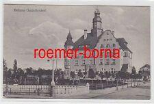 76158 Ak Rathaus Großröhrsdorf in Sachsen 1939
