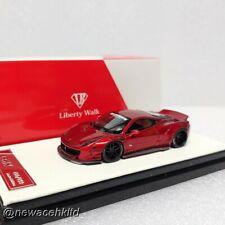 LIBERTY WALK LB 458 Candy Red LB Model 1/64