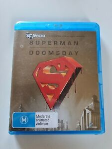 Superman Doomsday Blu Ray Free Postage