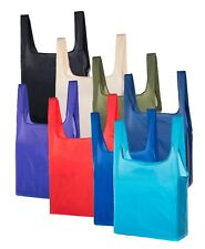 Reusable Shopping Bags| Foldable Large shopping tote folds in to Small pouch