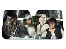 Star Wars Millennium Falcon Car Windshield Accordion Sun Shade Protector