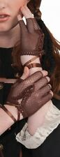 Steampunk Fingerless Brown Gloves - Victorian Industrial & Science Fiction fnt