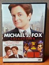 Michael J. Fox Collection (For Love or Money / The Hard Way) DVD  LIKE NEW