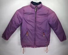 Napapijri Skidoo Women's MEDIUM Jacket Coat Expedition Reversible Purple/Blue