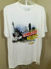 New Balance White 2015 Nyc Comicon Graphic Short Sleeve T Shirt Sz L