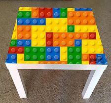 Lego Brick Vinyl Sticker Suitable For ikea lack Table / Coffee table lk5