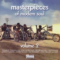 MASTERPIECES OF MODERN SOUL VOLUME 2 - New & Sealed 70s Soul CD (Kent) Northern