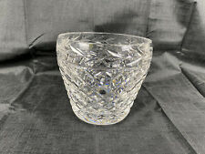 Signed Waterford Crystal GLANDORE Ice Bucket(s) EUC