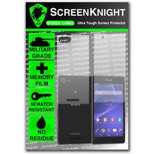 Screenknight Sony Xperia E3 completa cuerpo Protector De Pantalla Invisible Militar Escudo