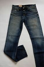 JEANS FEMME WOMAN EDWIN W HARDY PANT (RED SELVAGE - OILER WASH)   SIZE  W30 L32